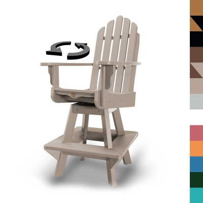 Swivel Counter Height Dining Chair