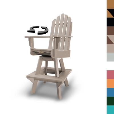 Swivel High Dining Chair