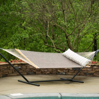 Large Pool Side Hammock - Framework Bronze