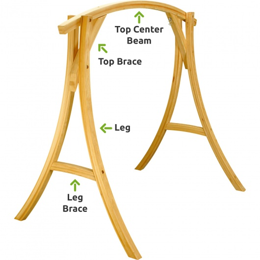Cypress Wood Swing Stand Replacement Parts