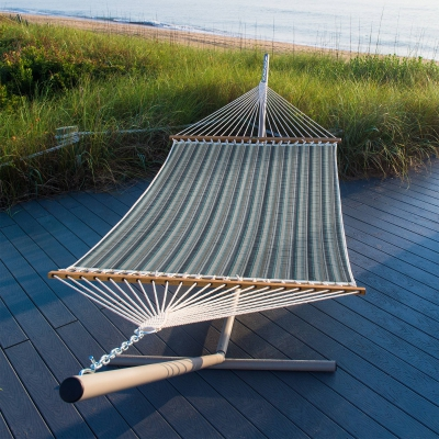 Large Quilted Sunbrella Fabric Hammock - Trusted Coast