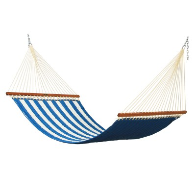 Large Quilted Fabric Hammock - Cabana Regatta