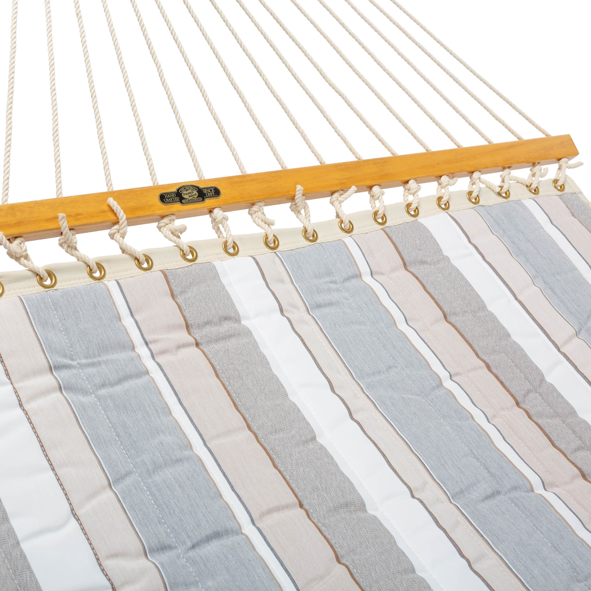 Quilted Fabric Hammock Expand Dove