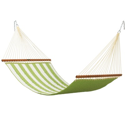 Large Quilted Fabric Hammock - Resort Ginkgo