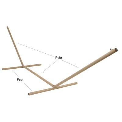 Round Metal Hammock Stand Replacement Poles