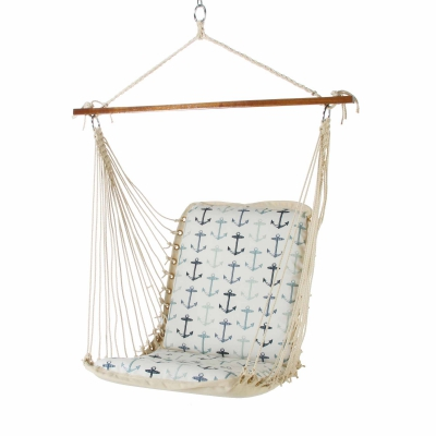 Cushioned Single Swing - Anchor Arbor Cream