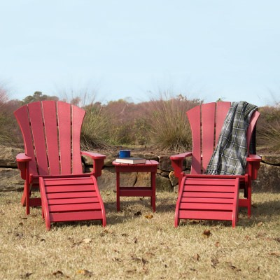 5 Piece Sunrise Adirondack Set