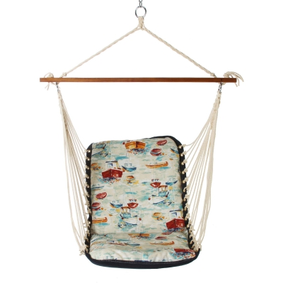 Cushioned Single Swing - Spinnaker Bay Sailor