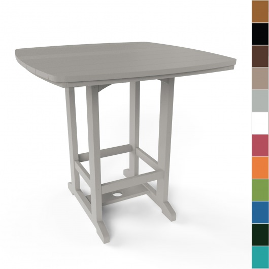 Square High Dining Table